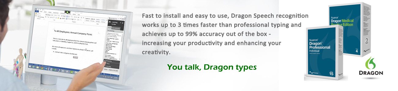 Dragon Speech Recognition